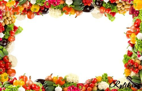 Best Photos of Fruit And Vegetable Border.