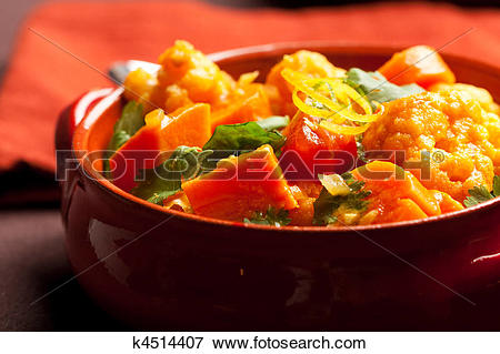 Picture of Vegetable Curry k4514407.