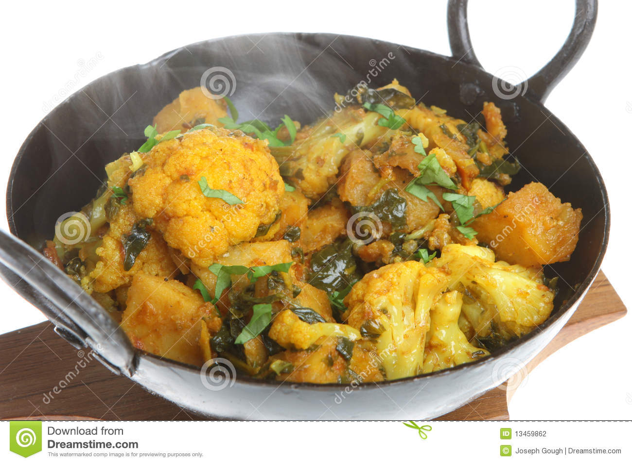 Indian Vegetable Curry Stock Photography.