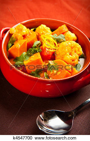 Stock Photography of Vegetable Curry k4547700.