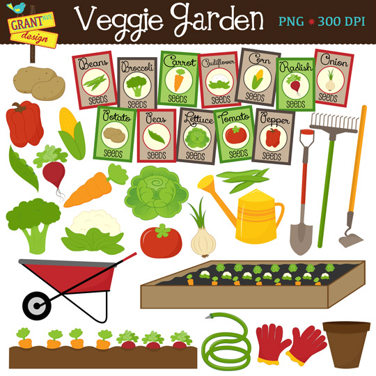 Vegetable gardening clipart - Clipground