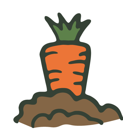 Garden Vegetable Clipart.
