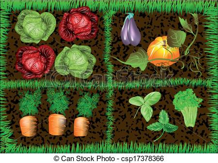 Vegetable garden Clipart Vector Graphics. 13,886 Vegetable garden.