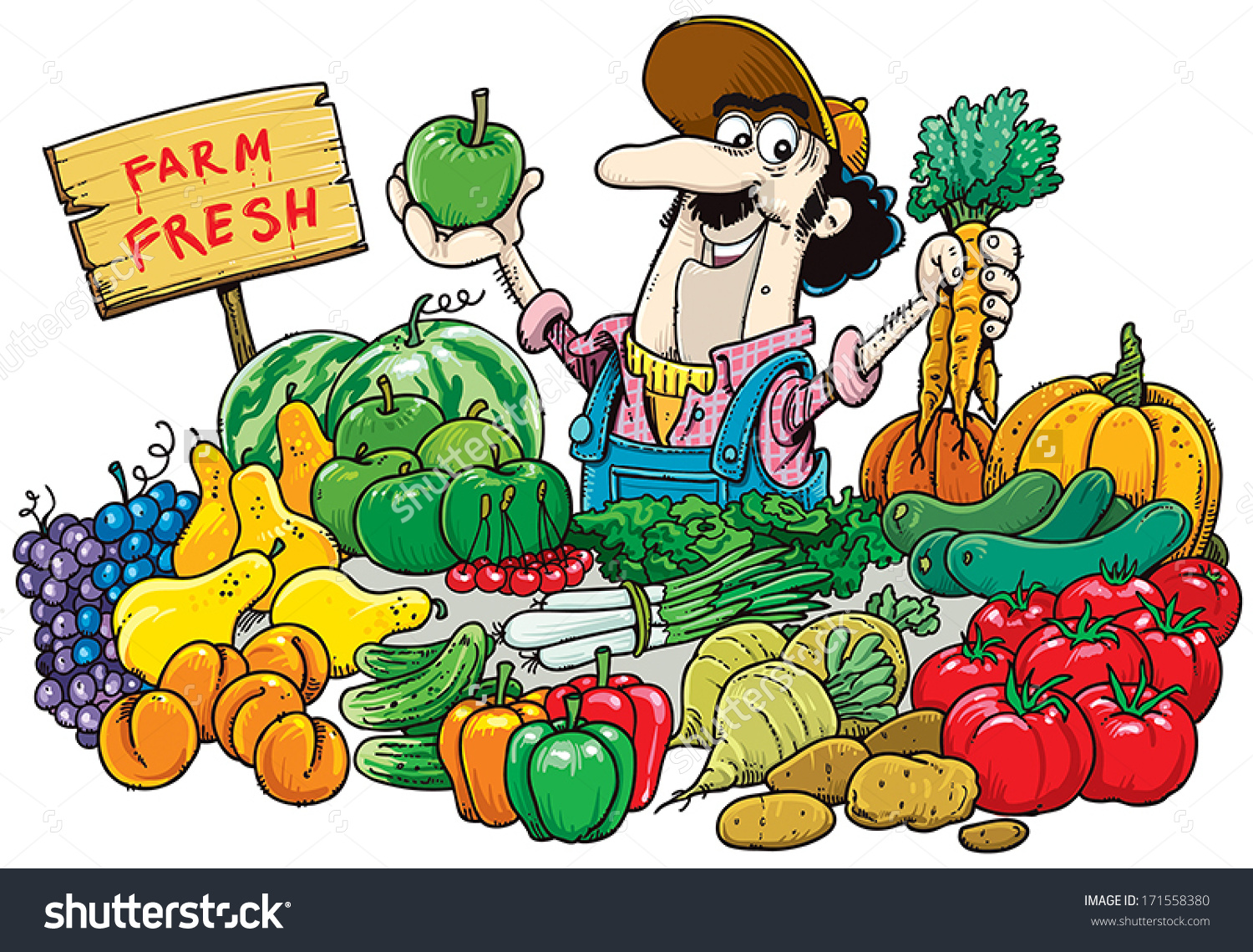 Vegetable Market Clipart Clipground
