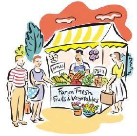Vegetable market clipart 11 » Clipart Station.