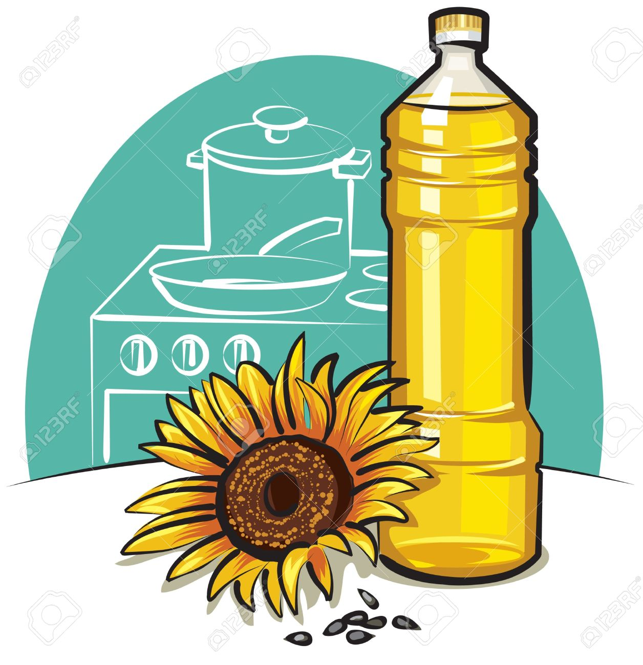 8,963 Vegetable Oil Cliparts, Stock Vector And Royalty Free.