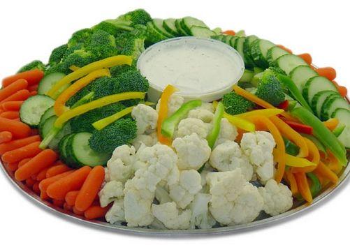 Vegetable Tray Clip art.