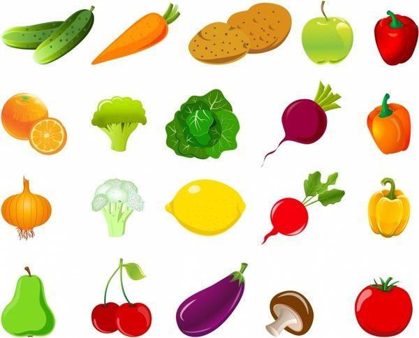 Resultado de imagen de vegetables clipart.