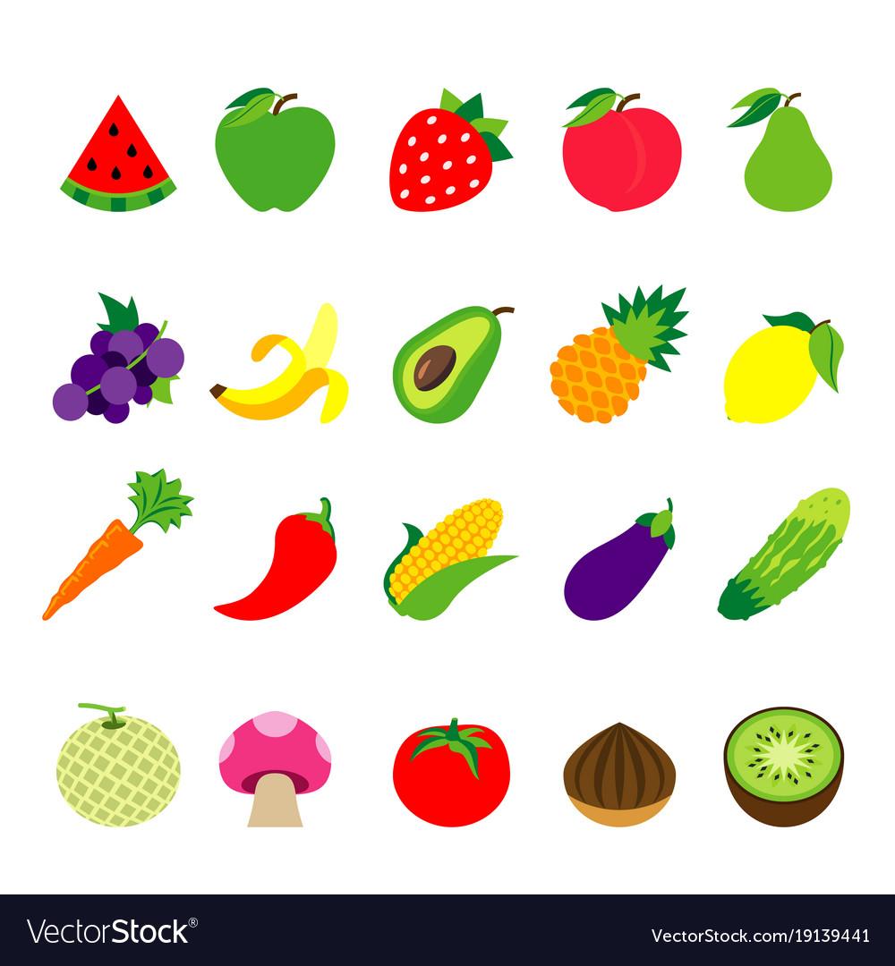 Fruit vegetable food healthy.