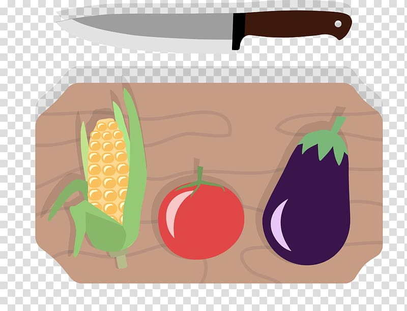 Knife Cutting board Wood, Vegetables dish plate transparent.