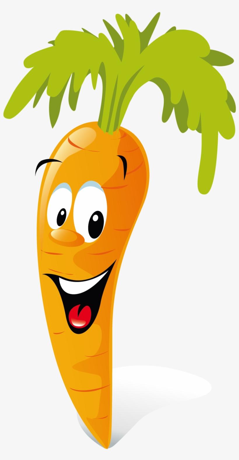 Carrot Animation Vegetable Clip Art.