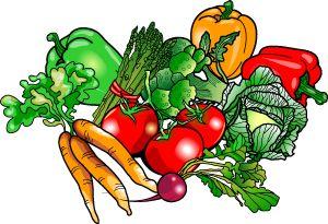 Vegetarian Clipart.