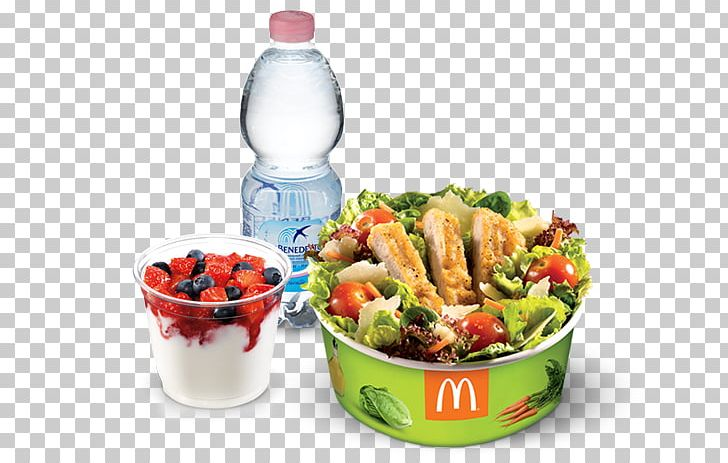 Vegetarian Cuisine Salad McDonald\'s Lunch Nutrition Facts.