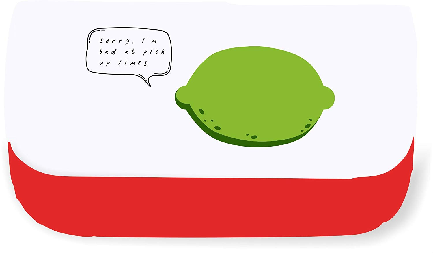 I\'m Bad A Pick Up Lines Limes Funny Fruit and Vegetable Puns.