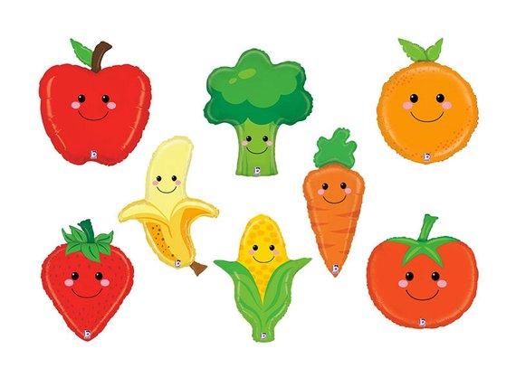 Fruit & Vegetable Balloons.
