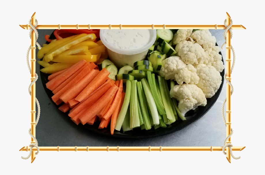 Catering Dishes Veggie Tray.