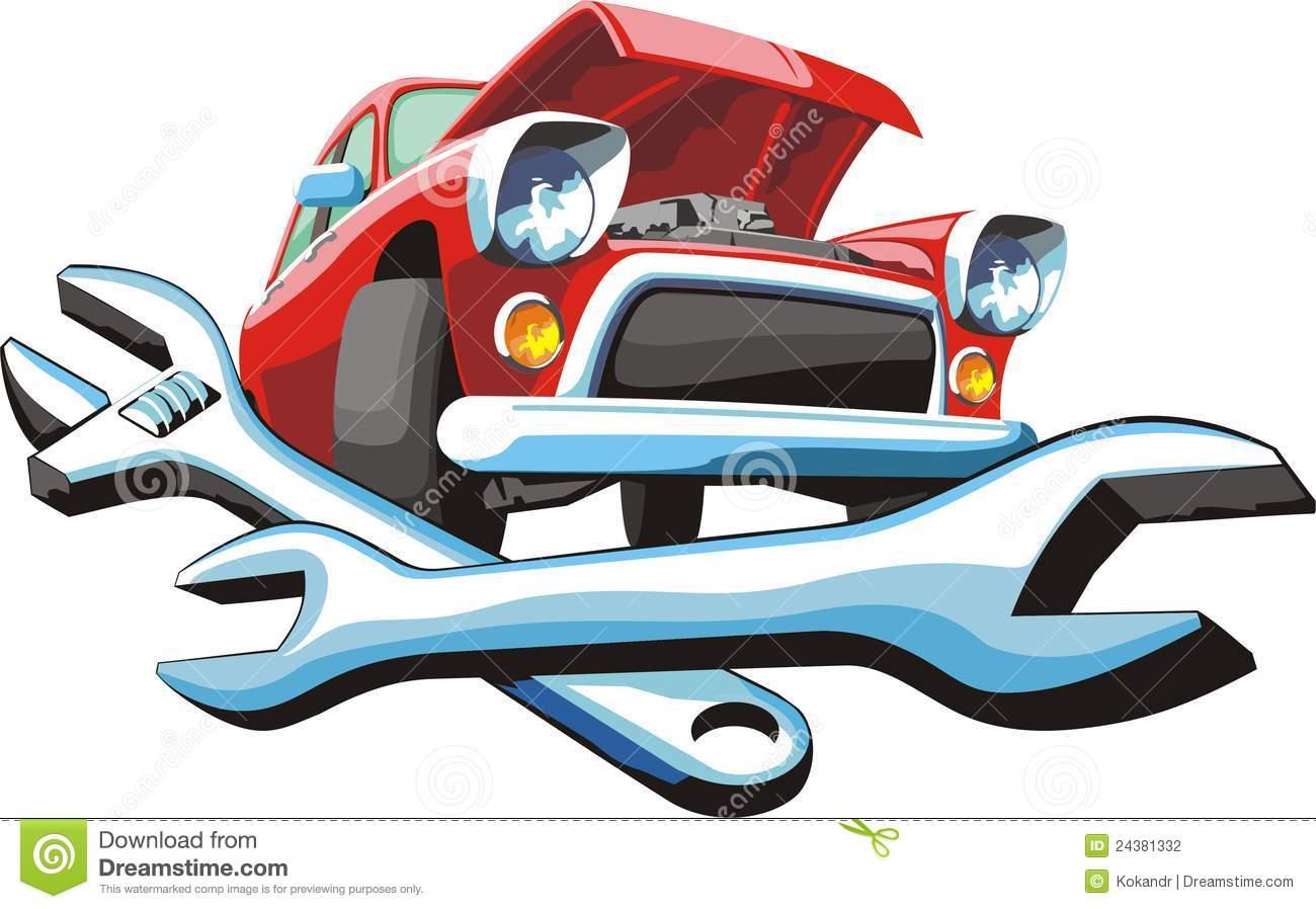 Auto body repair clipart free.