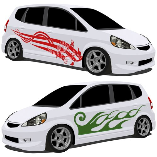 Vehicle Graphics Clipart.