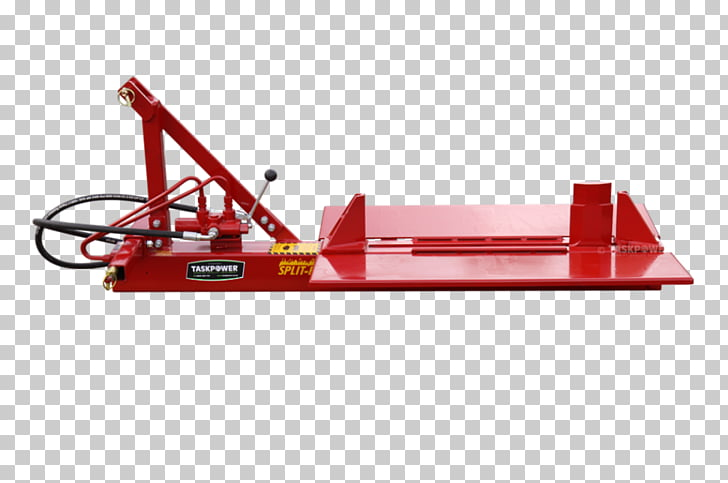 Tractor Machine Vehicle Log Splitters, tractor PNG clipart.