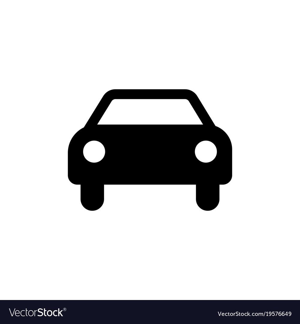 car sign.