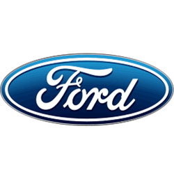 Ford car company logo.
