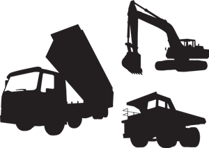 Construction Vehicle Logo Vector (.AI) Free Download.
