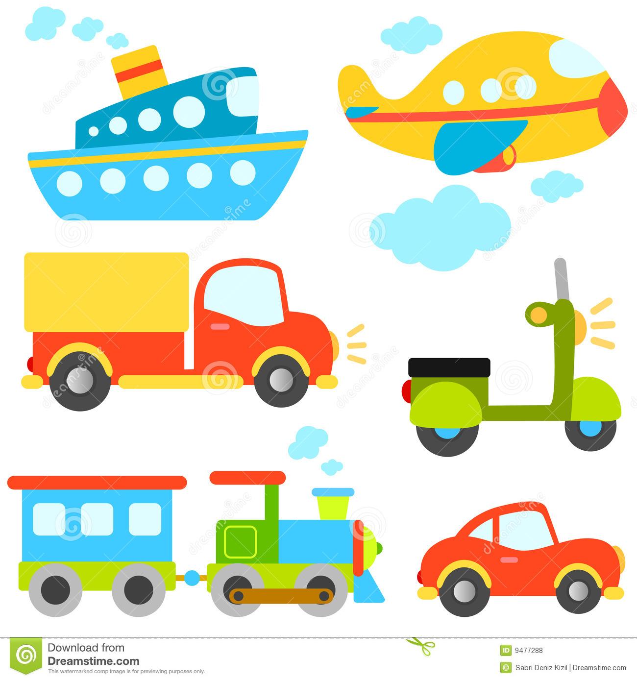 Vehicles Stock Illustrations.