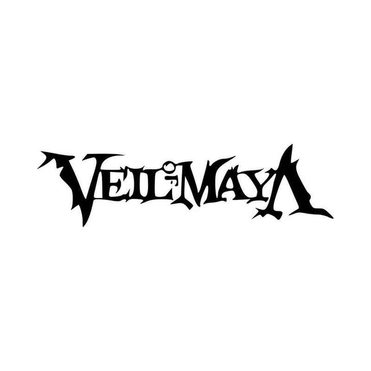 Veil Of Maya Band Logo Vinyl Decal Sticker.