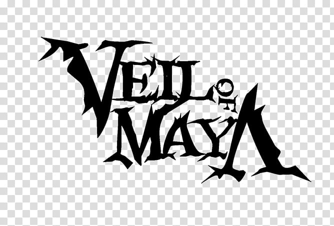 Veil of Maya Logo, Vell of Maya logo transparent background.