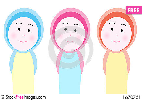 Veiled Girl Colors.