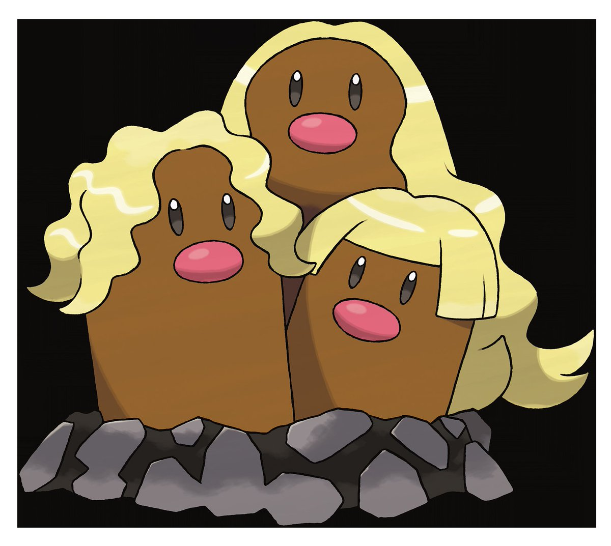 "PokéTrends on Twitter: ""Alolan Dugtrio has been officially."