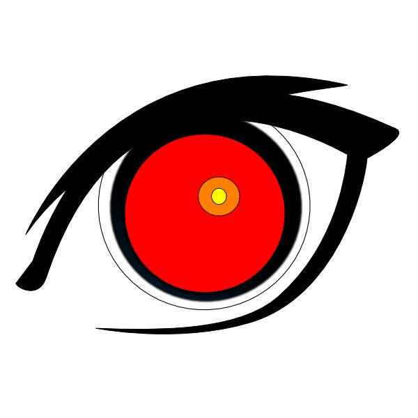 Eyeball clipart vein, Eyeball vein Transparent FREE for.