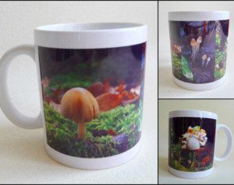 Cup fungi.