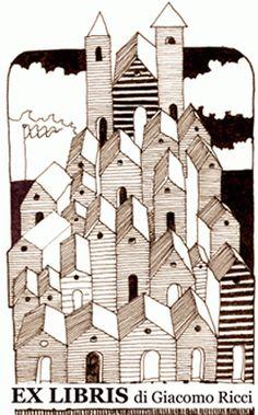 Ex libris by K. Kalinovich.