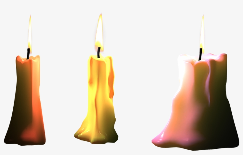 Candles, Png, Isolated, Light, Bill, Flame, Candle.