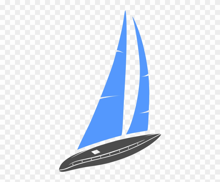 Clipart Library Sail Boat Logo Template Transportation.