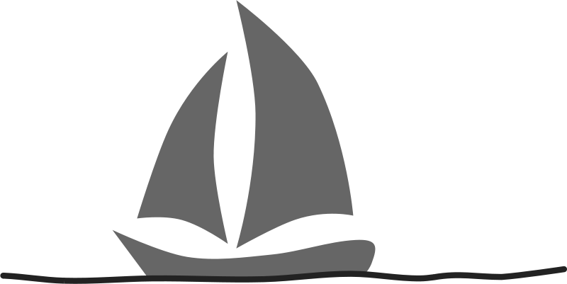 Free Clipart: Velero. Sailboat.