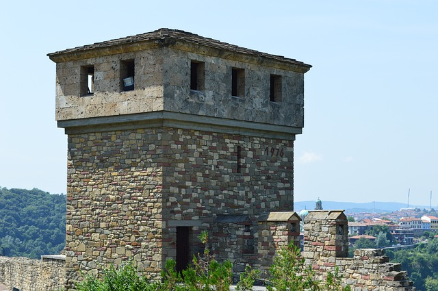Free photo Town Houses Buildings Veliko Turnover Bulgaria.