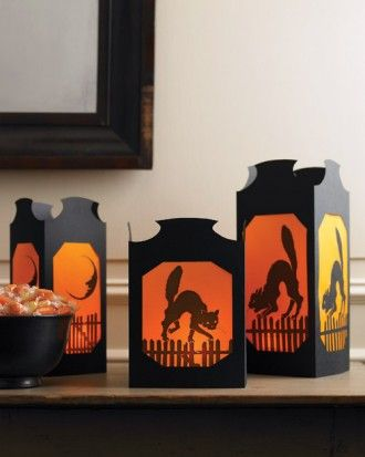 "See the ""Vellum Halloween Table Lanterns"" in our Clip Art and."
