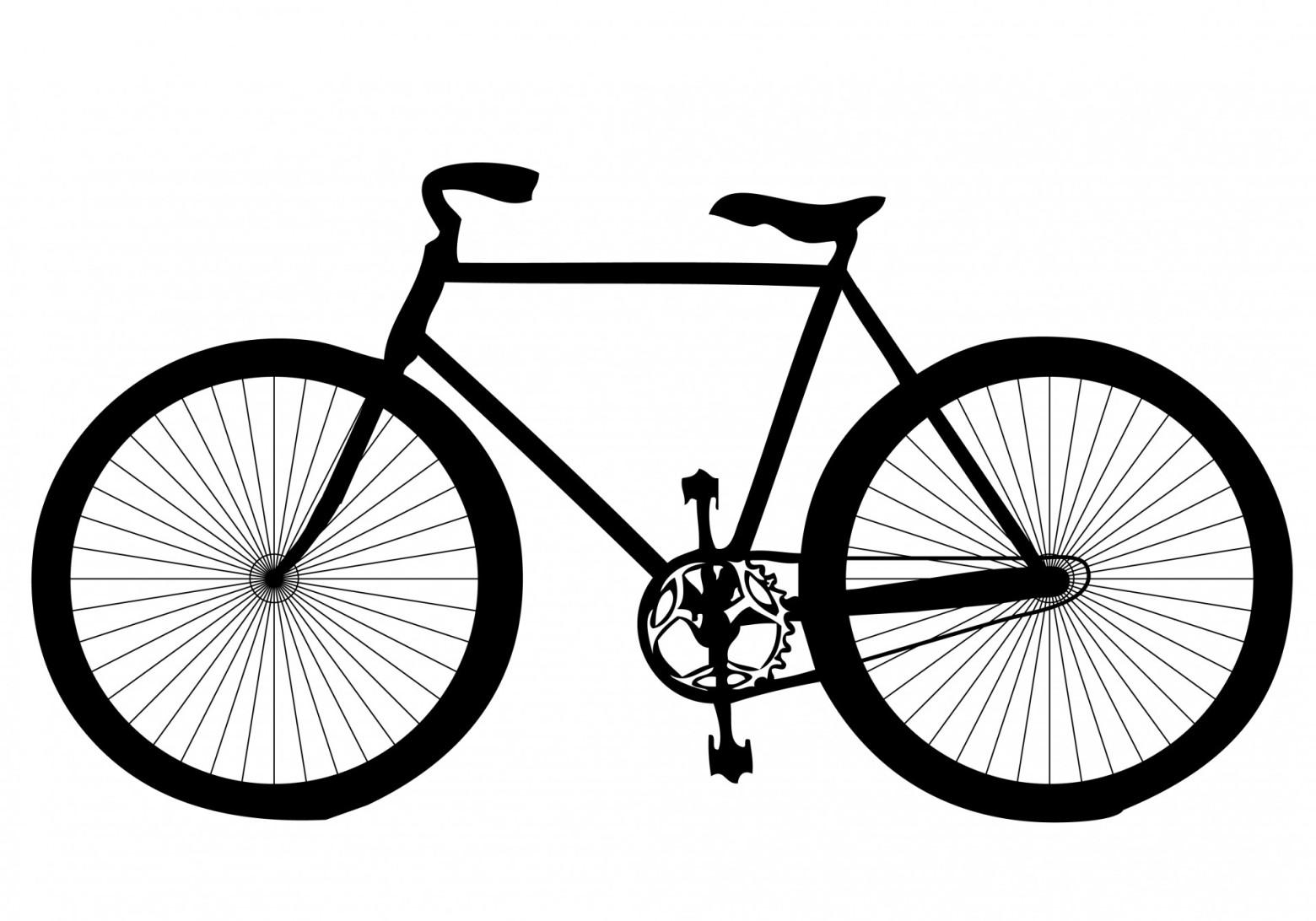 illustration vélo clipart,vecteur, bicyclette.