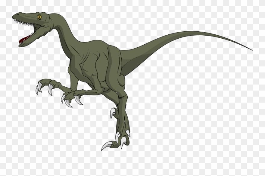 Dinosaur Clipart Velociraptor.
