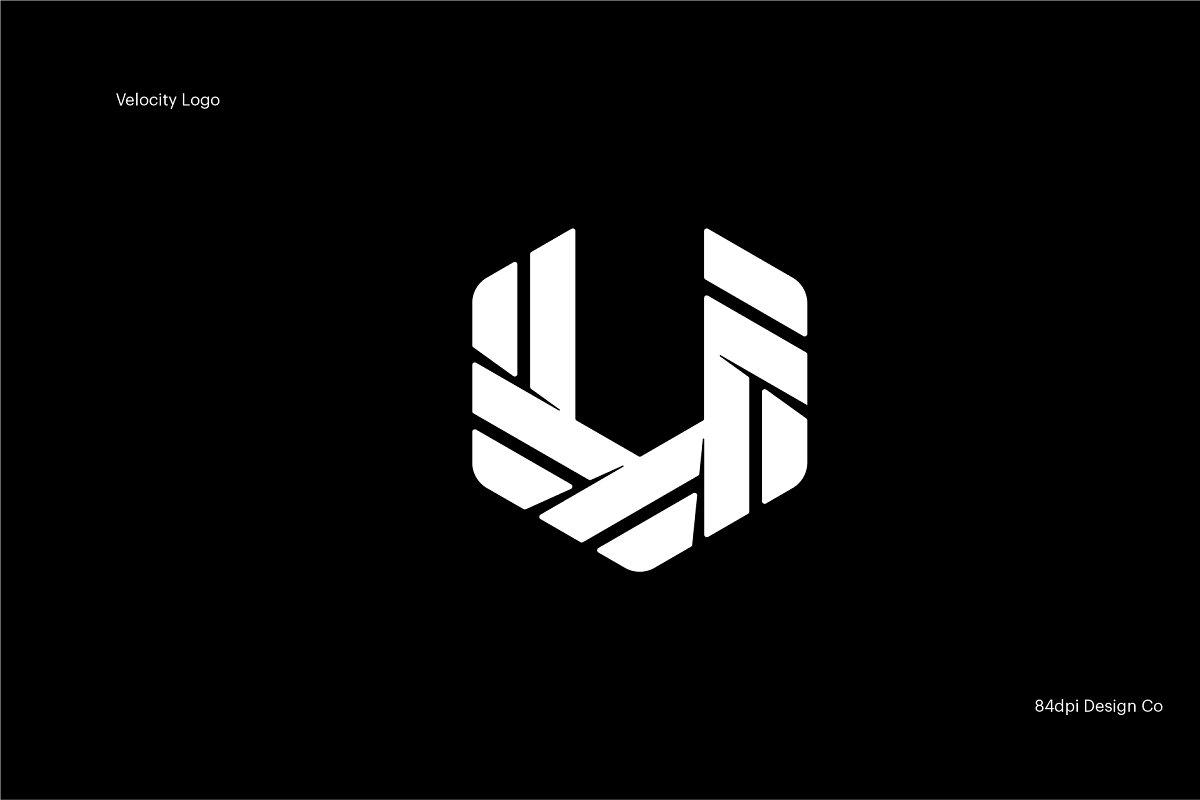 V is for Velocity Logo ~ Logo Templates ~ Creative Market.