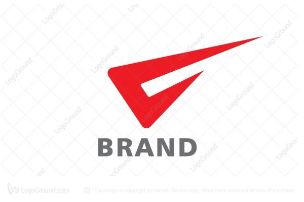 Exclusive Logo 71250, V For Velocity Logo.