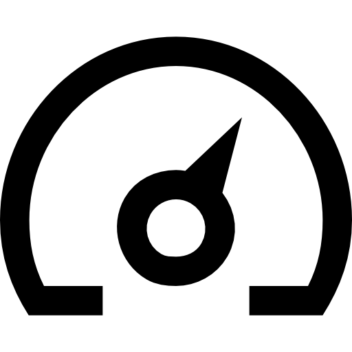 Speedometers, Car, vehicle, Automobile, speed, velocity icon.