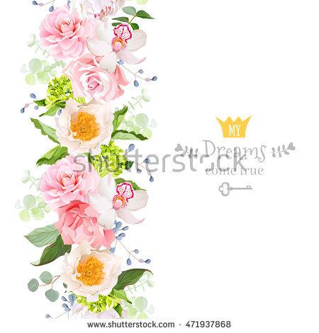 French Hydrangea Stock Photos, Royalty.