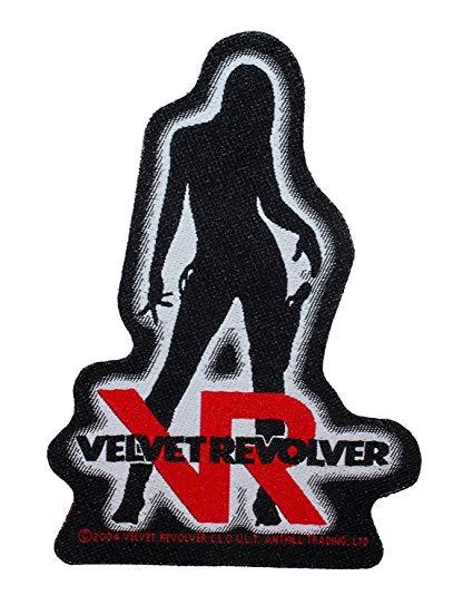 Amazon.com: Velvet Revolver Girl Logo Patch Die Cut Hard.