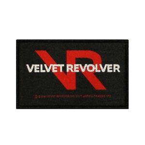 Details about Velvet Revolver Logo Patch Hard Rock Band Music Jacket Woven  Sew On Applique.