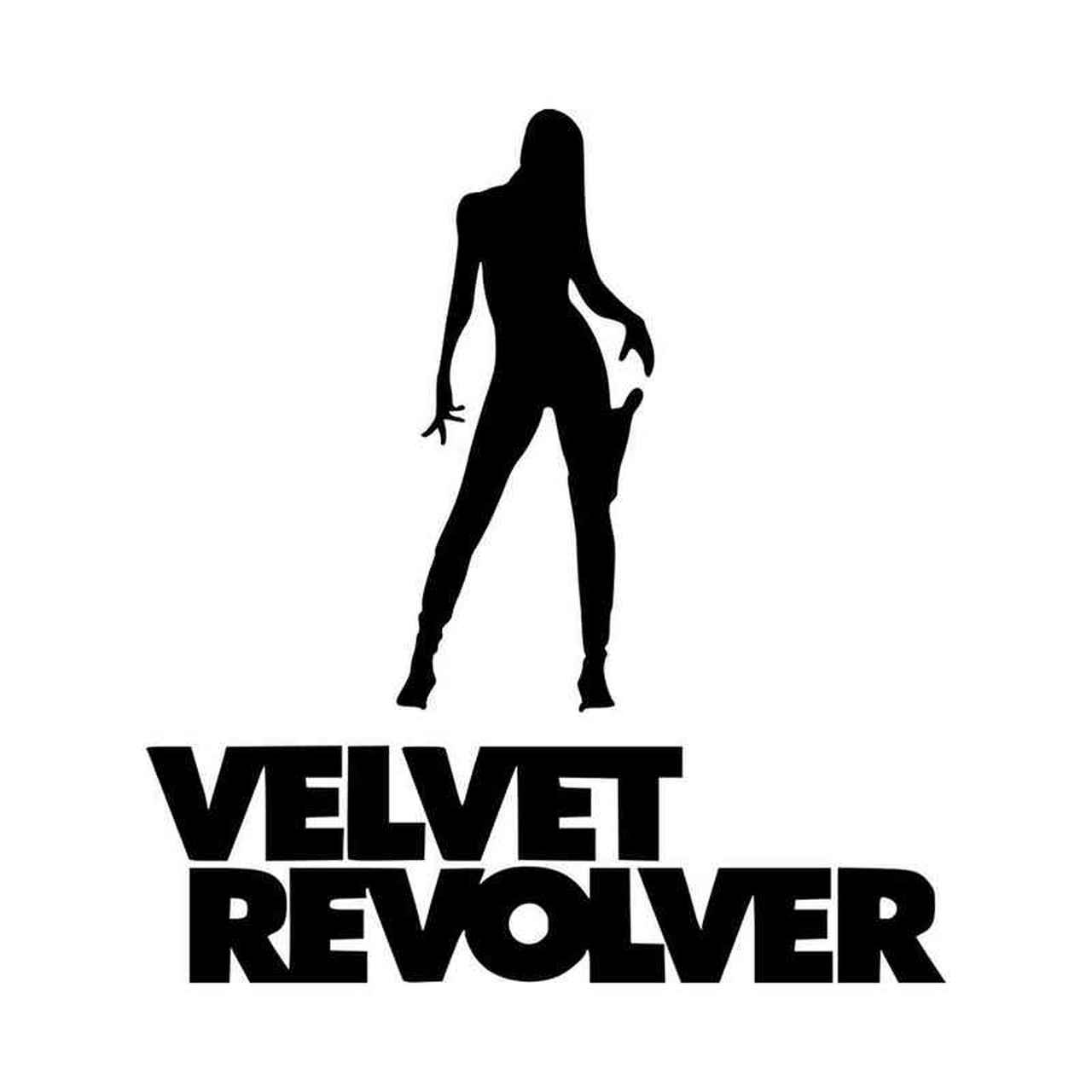 Velvet Revolver Vinyl Decal Sticker.