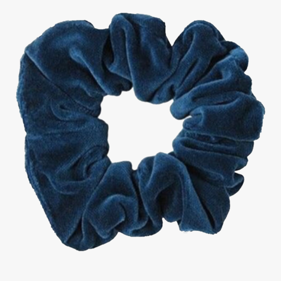 Transparent Background Blue Scrunchie Png , Free Transparent.