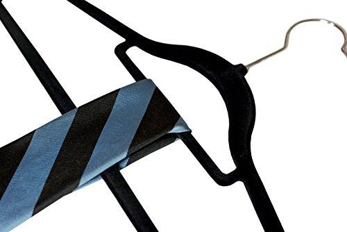 Velvet Suit Hangers with Extra Tie Bar.